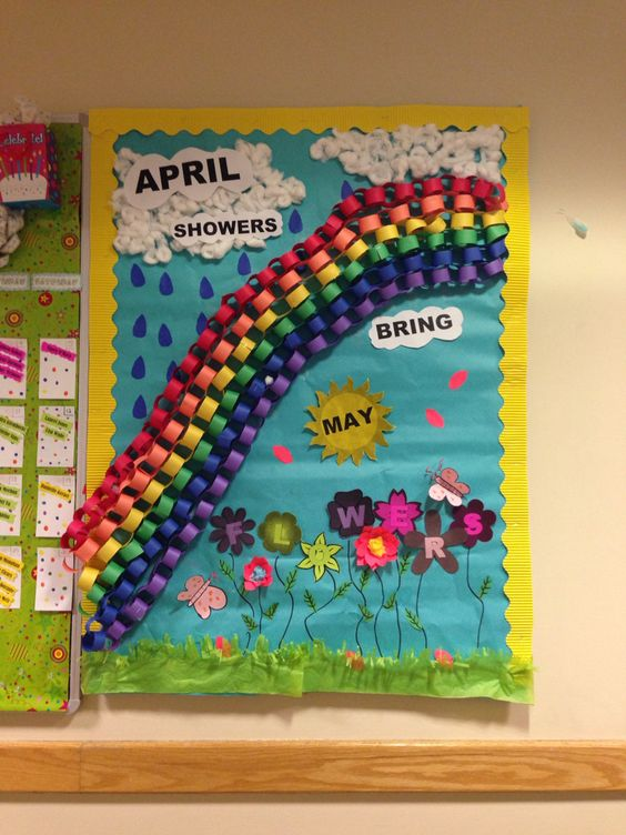 May flowers, Bulletin boards and Flower on Pinterest