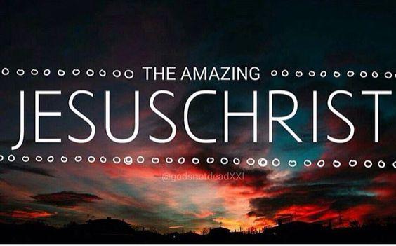 The amazing jesuscrist :)