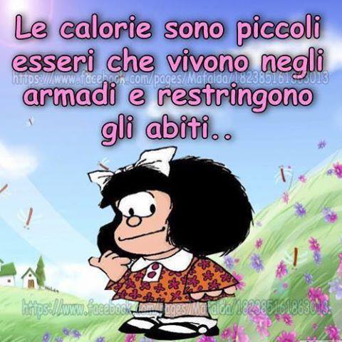 Le calorie restringono gli abiti..