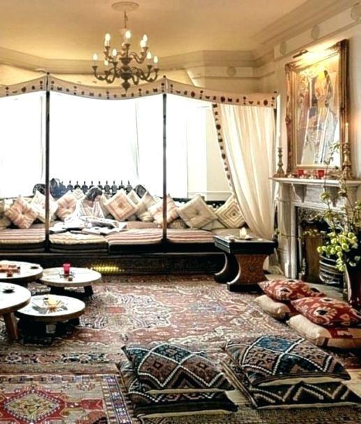 deco orientale chic salon en pour decoration chambre ...