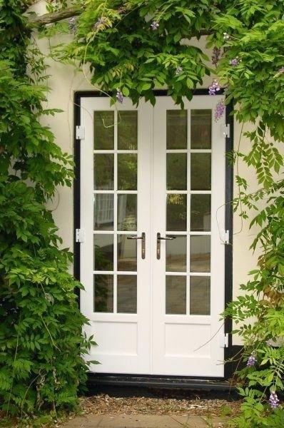 Narrow Exterior French Door Patio Doors