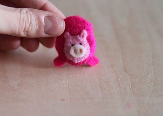 little piggie sock embellishments