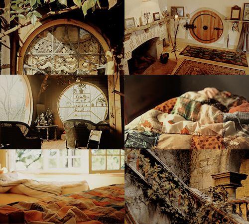 House Common Room aesthetics - Hufflepuff Basement 2/2