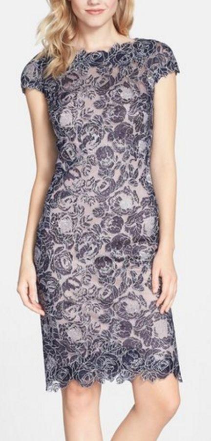 Gorgeous lace dress from Tadashi Shoji