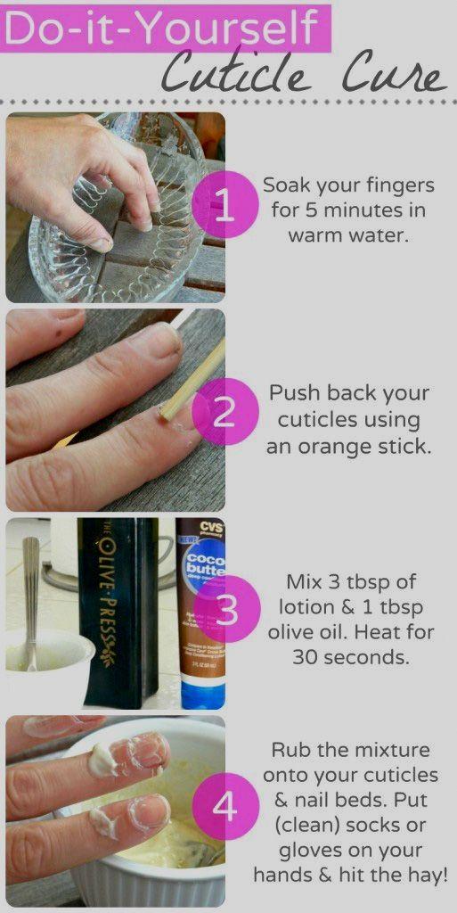 Pin By Yaromira Lavrenteva On Beauty Healthy Cuticles Cuticle Treatment Healthy Nails
