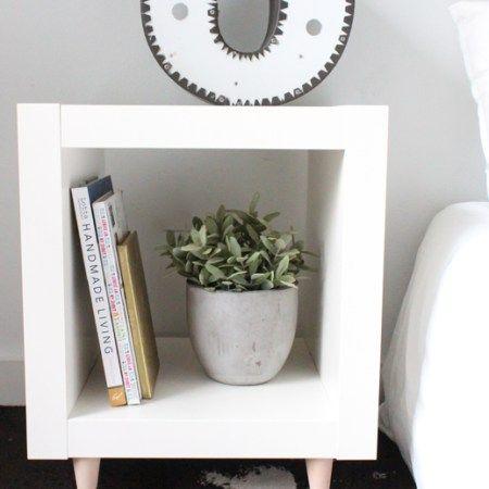 DIY // Ikea Hack Sidetable