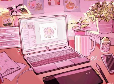 Pin By Jaiden On Pink Aesthetic Pastel Pink Aesthetic Anime Scenery Wallpaper Anime Wallpaper