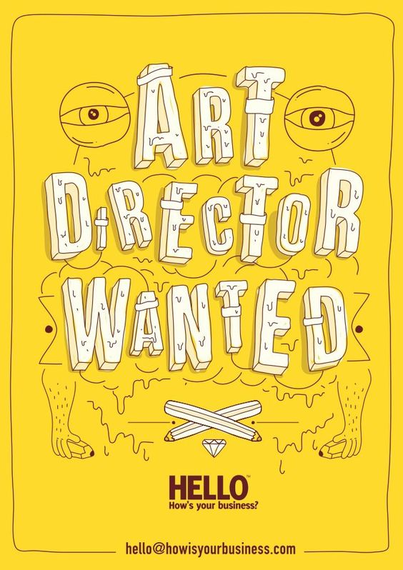 Art Director Wanted by How is your business