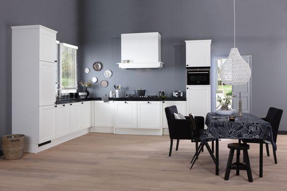 Bruynzeel Keuken Creme Vanille : Bruynzeel Allure keuken in het wit ONZE KEUKENS Pinterest