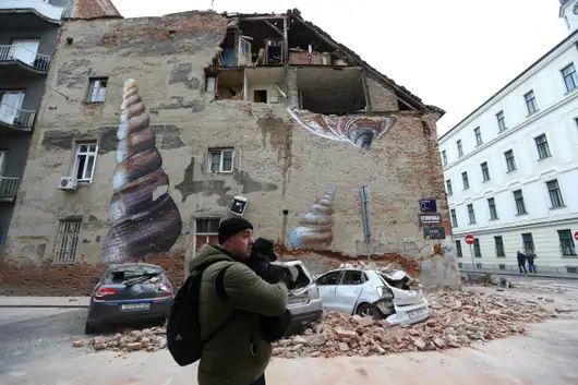 Zagrebearthquake220320a Jpg Earthquake Croatia Zagreb