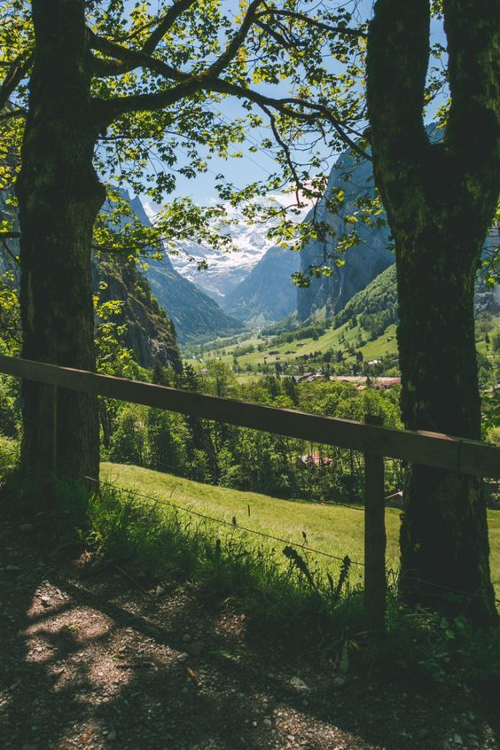 The Most Beautiful Place in the World? Lauterbrunnen, Switzerland • The Overseas Escape::