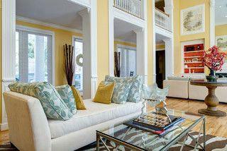 Portfolio 1 - eclectic - living room - st louis - by Matt Harrer Photography