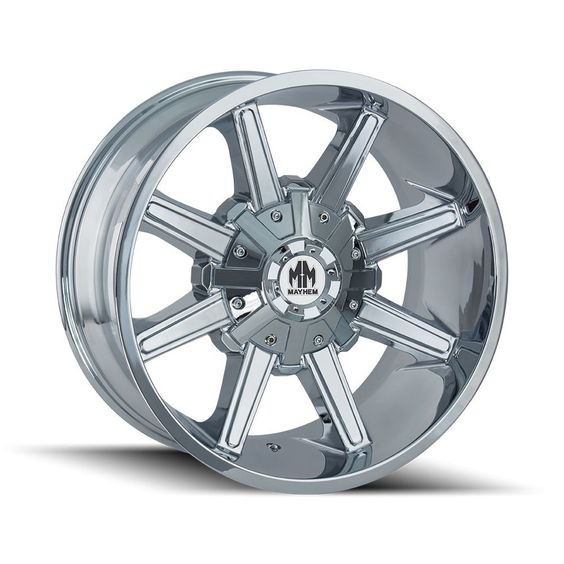 20 Mayhem Arsenal 8104 Chrome Wheel 20x9 5x5 5x5 5 0mm Jeep Wrangler Ford 5 Lug Chrome Wheels Wheel Rims Chrome Rims
