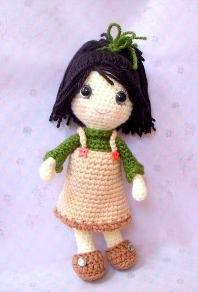 Basic Amigurumi Doll Pattern : Basic Amigurumi Doll Pattern Basic Character Doll ...