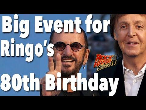 Ringo Starr Planning 80th Birthday Party With Paul Mccartney More Youtube Ringo Starr Paul Mccartney 80th Birthday Party