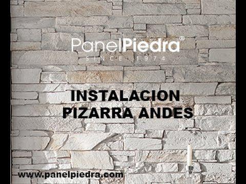Como montar Paneles Decorativos de Panel Piedra - YouTube
