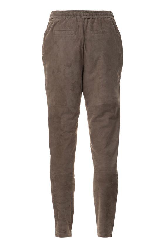 van Laack Onlineshop | HEIDY | Das Hemd Замшеві брюки кольору іриски