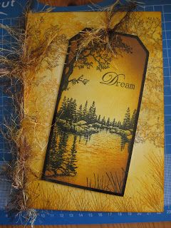 Debs Designs: Stampscapes, Ink Dusters and the Grand Prix!