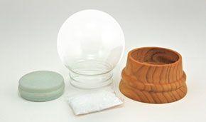 Glass Snow Globe Kit