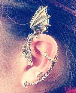 Dragon Cartilage Piercing Earrings #cartilage #piercing #earrings www.loveitsomuch.com