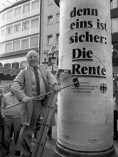 Blüm - Die Rente ist sicher ...