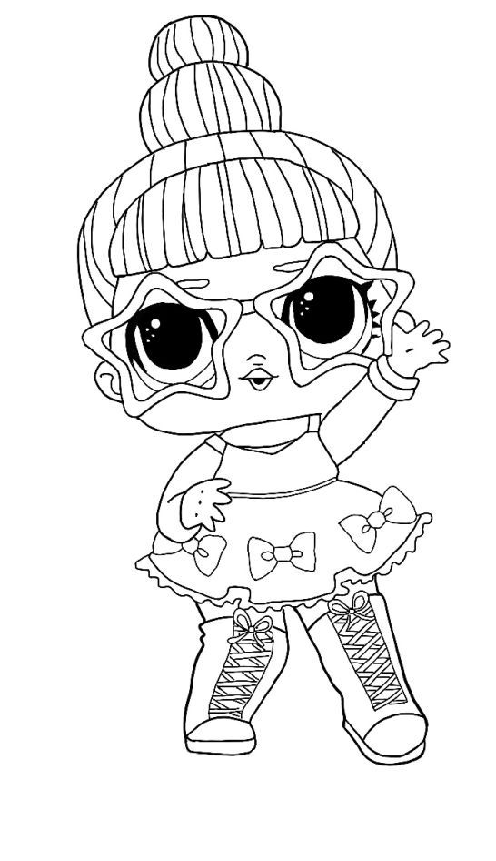 Lol Surprise Winter Disco Coloring Pages Free Coloring Pages Coloring1 Com Star Coloring Pages Free Coloring Pages Unicorn Coloring Pages