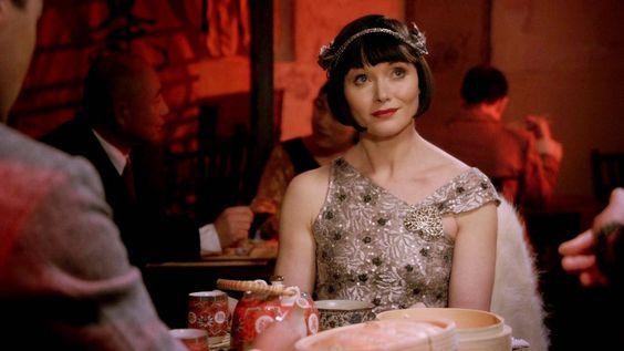 Miss Fisher's Murder Mysteries: Essie Davis as Phryne Fisher in Miss Fisher's Murder Mysteries: Season 1, Episode 6 - Ruddy Gore (2012)