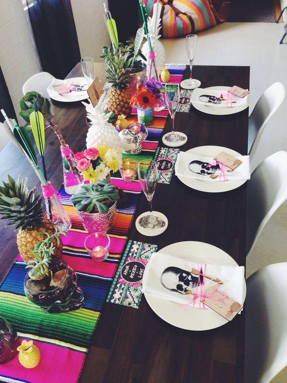 Ideas para fiestas mexicanas 16 de septiembre ideas - Contemporary mexican decor ...