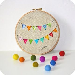 Los bastidores están de moda - Embroidery hoop