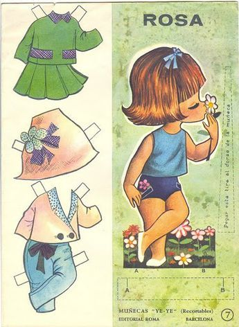 Gallarda paper doll