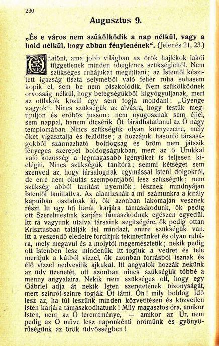 08.09 Spurgeon: Harmatgyöngyök...