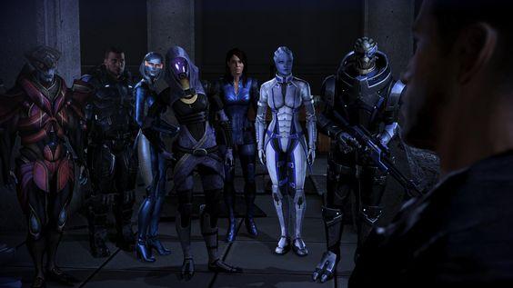 Mass Effect Wallpaper Garrus And Tali