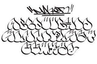 手帳もメモ書きもアートにしたい 真似して書きたくなる グラフィティアートのアルファベット集 Naver まとめ Graffiti Lettering Alphabet Graffiti Wildstyle Graffiti Alphabet