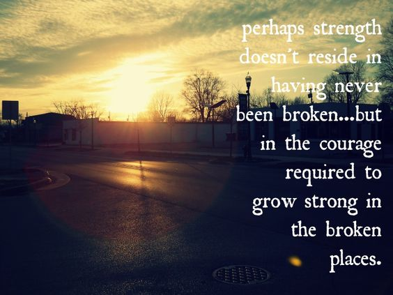 brokenness into beauty Can beauty come out of brokenness when you or a loved one is reeling from an illness, injury, or a personal loss, it feels difficult (or even offensive) to talk.