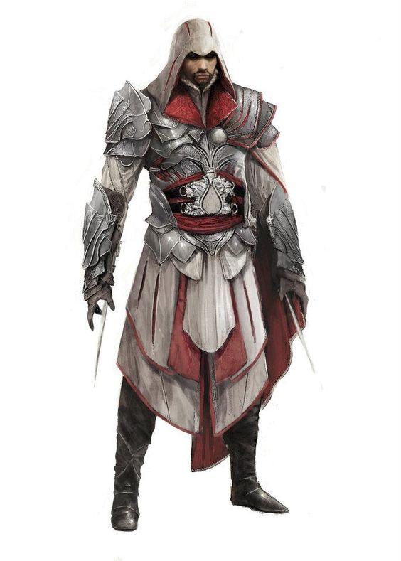 Ezio Helmschmied Drachen Armor Assassins Creed Assassin S Creed