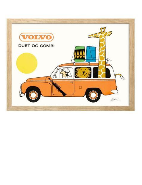 Ib Antoni Volvo Duet og Combi Print A5