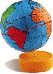 Blogão do Lobão: PRODUÇÃO DE UM GLOBO TERRESTRE