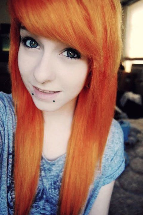 Pin By Kiara Williams On Scene Hair Pinterest Orange Color