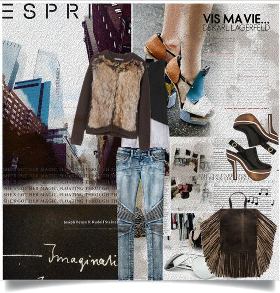 """""""Challenge Your Design Talent with Esprit & The Royal College of Art"""" by anashe on Polyvore"""