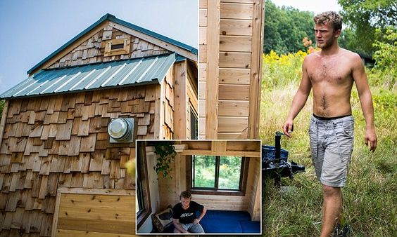 U of Michigan student fed up of paying rent builds his own tiny
