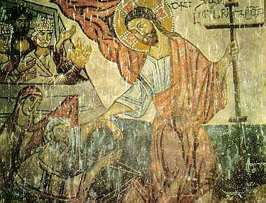 Сошествие во ад Грузия 14-15 век