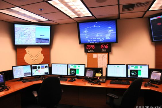 The control room at USAF Test Pilot School is where flight test engineers monitor aircraft telemetry during flight test techniques like the Departure Data F-16 flight test.