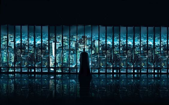 """Gotham City ... always brings a smile to my face"""