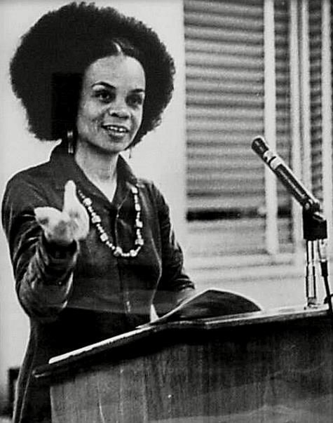 """Sonia Sanchez.   """"All poets, all writers are political. They either maintain the status quo, or they say, 'Something's wrong, let's change it for the better.' That's what my life has really been about."""""""