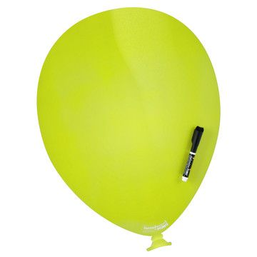 I want a balloon with a message for me on it!