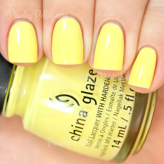1000+ Ideas About Yellow Nail Polish On Pinterest
