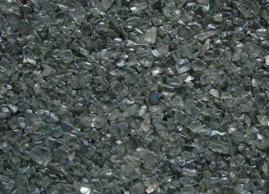 Colored Glass Pebbles (GC7025) Gray, 10 lbs Quartz Colors
