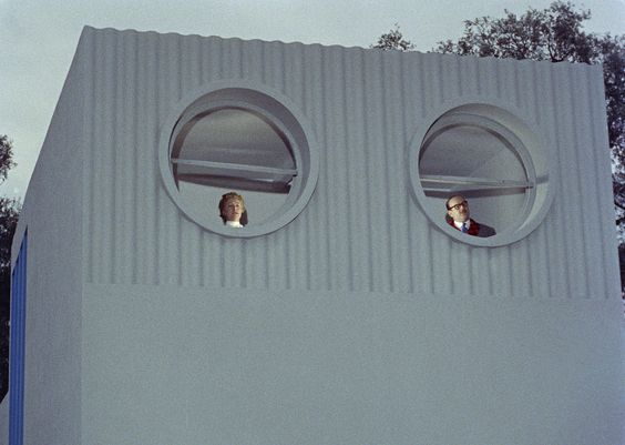 1958 Mon Oncle - Jacques Tati www.bullesconcept.com