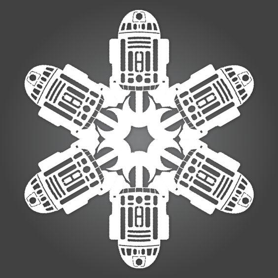 R2-D2 Snowflake.