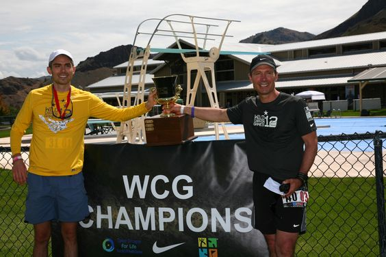 WCG founder, Mike Yonker, with Champion Captain #WildCanyonGames #WhatLimits